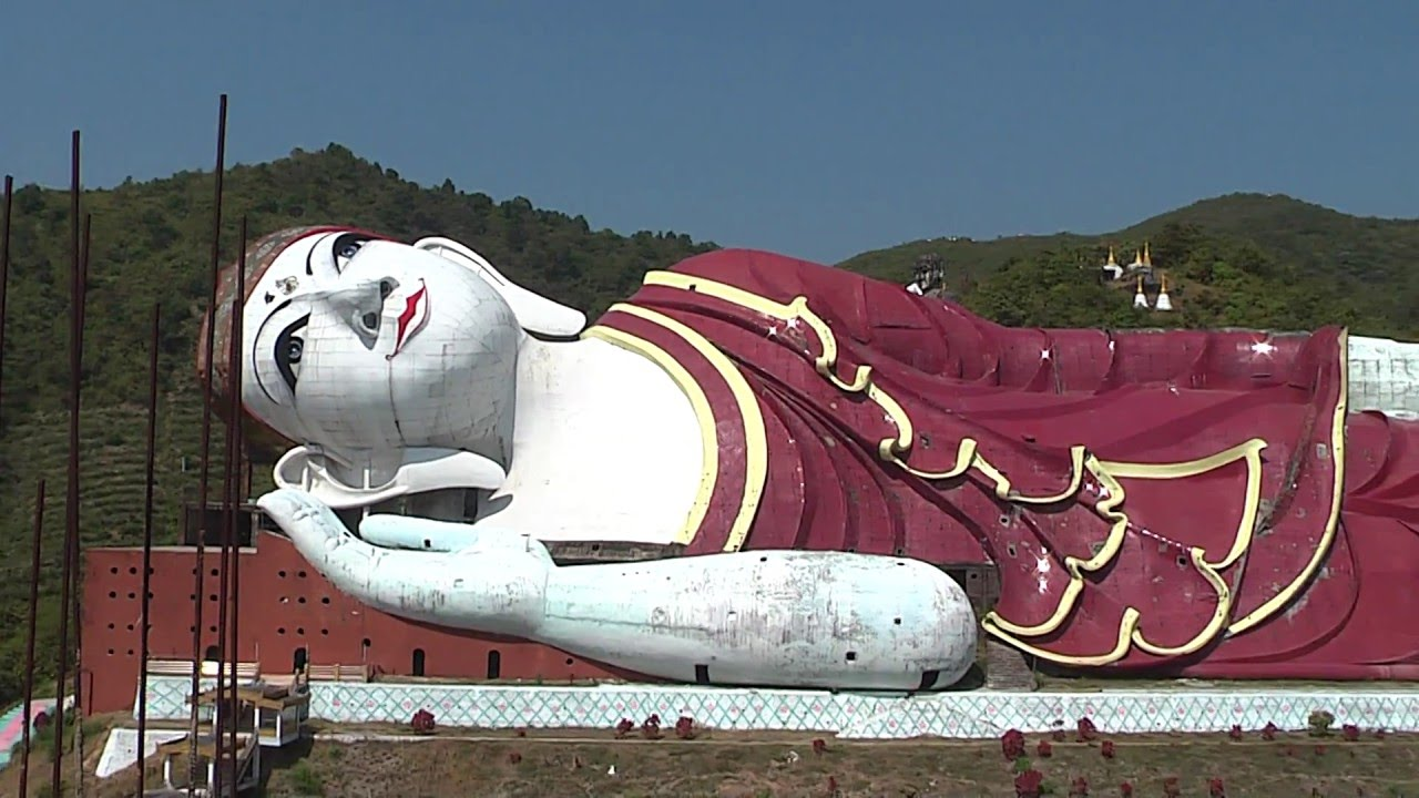 Worldu0027s largest reclining Buddha in Myanmar /Win Sein Tawya & Worldu0027s largest reclining Buddha in Myanmar /Win Sein Tawya - YouTube islam-shia.org