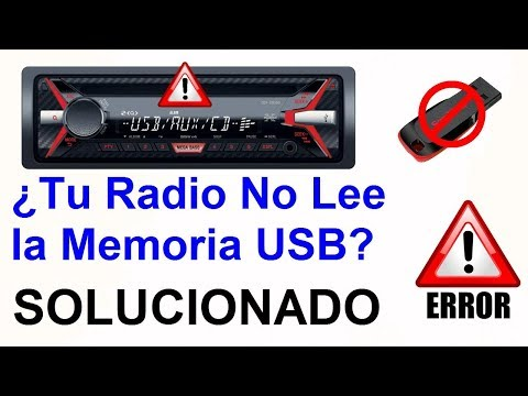 Mi Radio no Lee la USB SOLUCIONADO