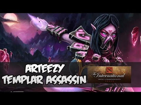 Arteezy (Templar Assassin) - TEAM SECRET vs. COMPLEXITY GAMING @ The International 2015