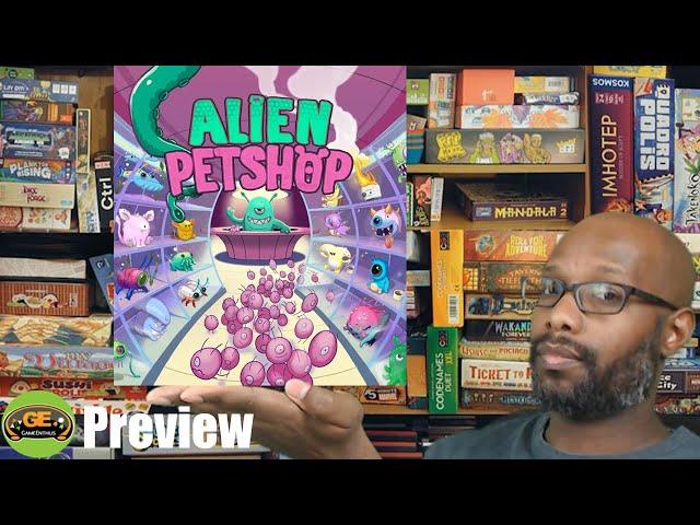 Alien Petshop Preview