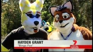 Bundaberg Furries on TV