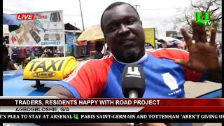 Agbogbloshie Traders Residents Happy With Road Project