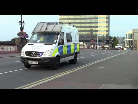 Heddlu Gwent Police - Mercedes Sprinter on Blues