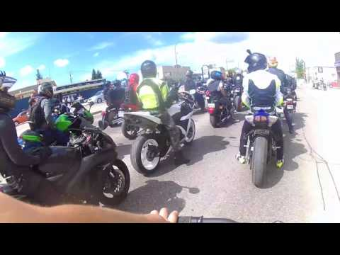 Ride for dad's Winnipeg 2017 (only footage)