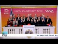 The NYSE welcomes Voya Financial (NYSE: VOYA) to ring The Opening Bell