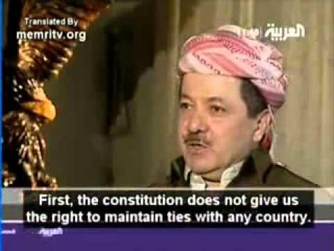 Massoud Barzani interview on Al Arabiya PART 2