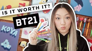 Testing Every BT21 Stationery Product