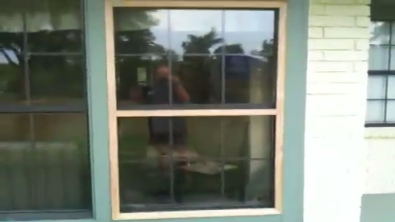 house window screens heavy duty how to make window screens part youtube