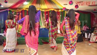 Aja Nachle Best Group Dance Ever | 4K | Yellow Night Dance & Choreography | BD Gaye holud Dance
