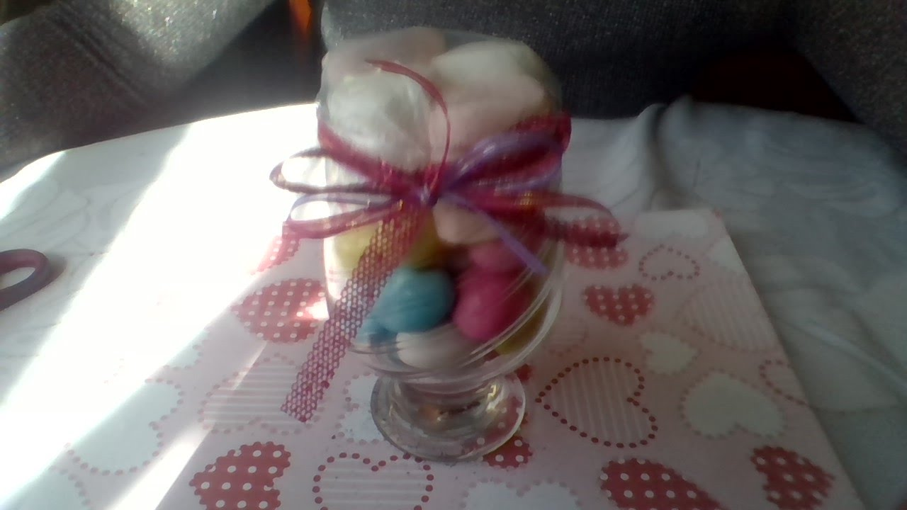 Como decorar una copa de cristal con dulces mdulcecreaci n - Como decorar copas de cristal ...