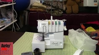 Unboxing Brother 1034D 4 thread Serger