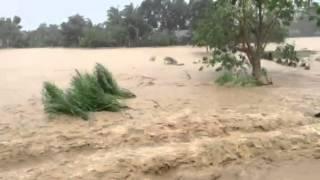 Flooding at Bambang, Nueva Vizcaya due to Typhoon Labuyo.