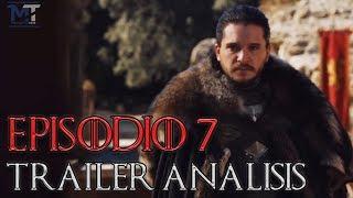 """Avance Game of Thrones Temp. 7 Episodio 7 """"El Lobo y el Dragón"""" - Análisis rápido"""