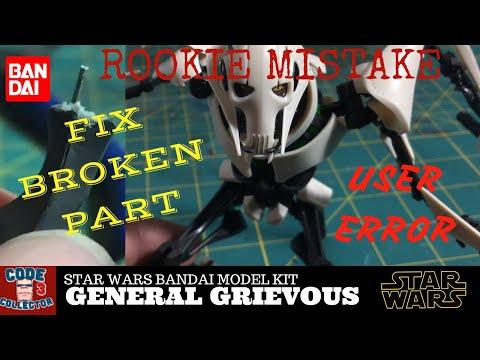 General Grievous Custom Mod Pinning Broken Part