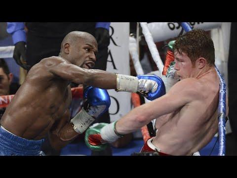 Floyd Mayweather Jr. Highlights Versus Canelo Alvarez