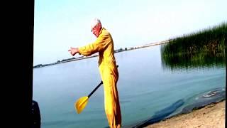 оз.Южное  - рыбалка, а я пытаюсь снять кино про себя, но....
