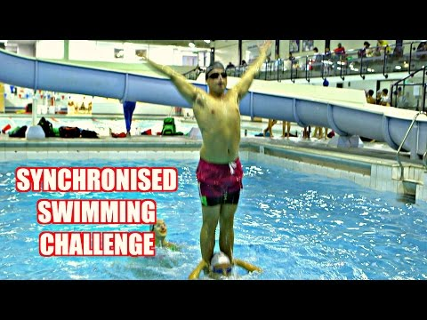 SYNCHRONISED SWIMMING CHALLENGE