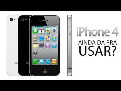 Ainda da pra usar iPhone 4? iPhone 4 pega WhatsApp?