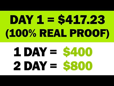 *NEW* Earn $417.23 In Your FIRST DAY?!! (Real Proof)   Make Money Online   Branson Tay