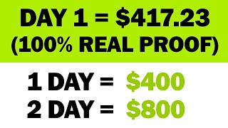 Download *NEW* Earn $417.23 In Your FIRST DAY?!! (Real Proof)   Make Money Online   Branson Tay