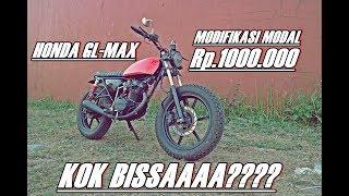 Video #MOTOVLOGINDONESIA | HONDA GL MAX MODIFIKASI MODAL 1JT KOK BISAAAA??? download MP3, 3GP, MP4, WEBM, AVI, FLV Oktober 2018