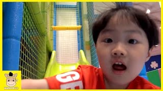 Tayo the little bus Kids Cafe Indoor Playground  Coloring for Kids and Family | MariAndKids Toys