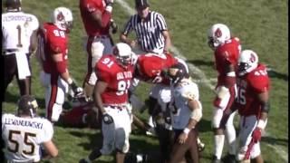 Ball State University Cardinals vs. Western Michigan University Broncos football, 1995