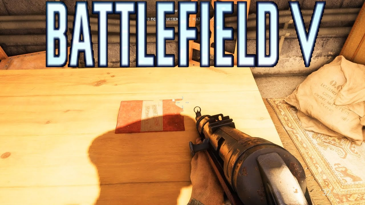 Battlefield V: ALL Letter Locations The Last Tiger Campaign