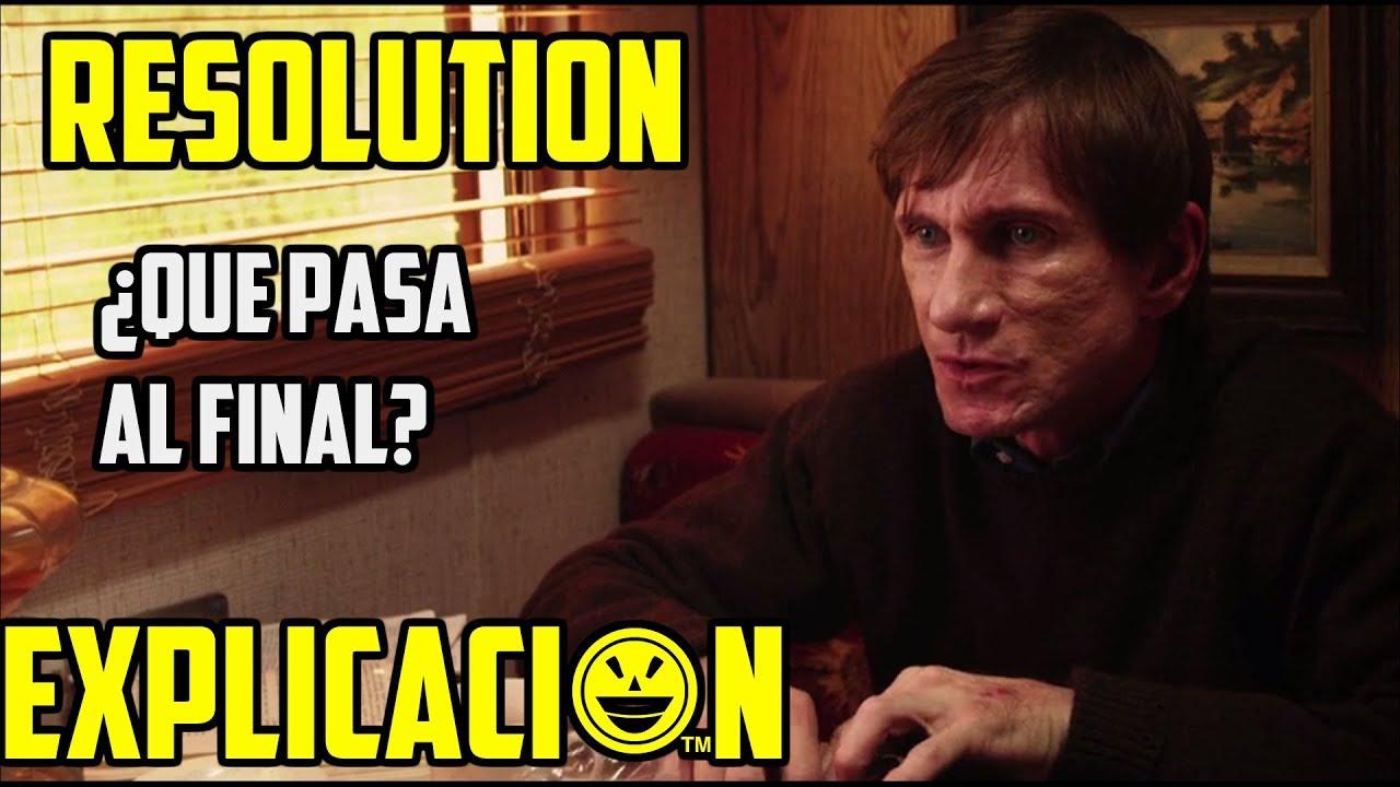 Download Resolution (2012) |  Análisis y Explicación | Pelicula Resolución explicada | Final explicado