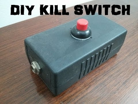 DIY Guitar Kill Switch (or keyboard sustain pedal/Foot Switch) Tutorial