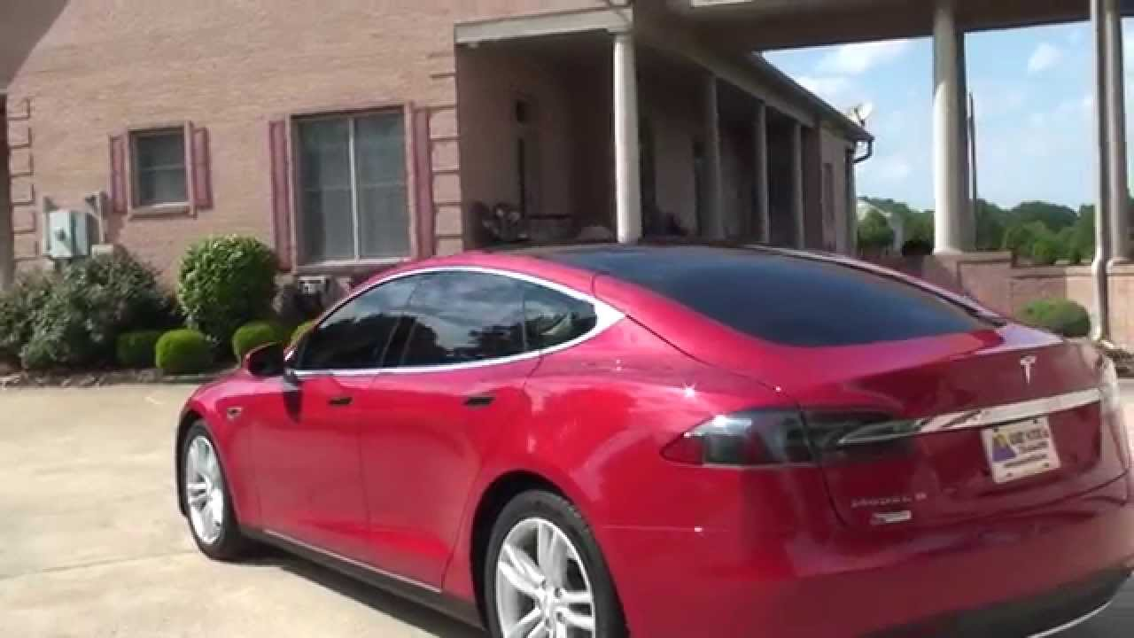 HD VIDEO TESLA MODEL S KW USED FOR SALE ELECTRIC CAR SEE - 2013 tesla model s for sale