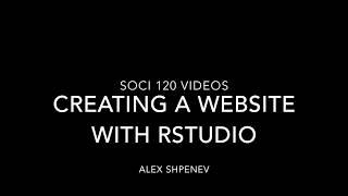 Erstellen Sie eine website mit R