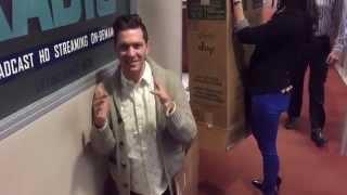 Andy Grammer Scares Rachel Platten!