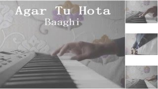 Agar Tu Hota - Full Karaoke || Baaghi || Tiger Shroff, Shraddha Kapoor || Tanuj Tiwari ||