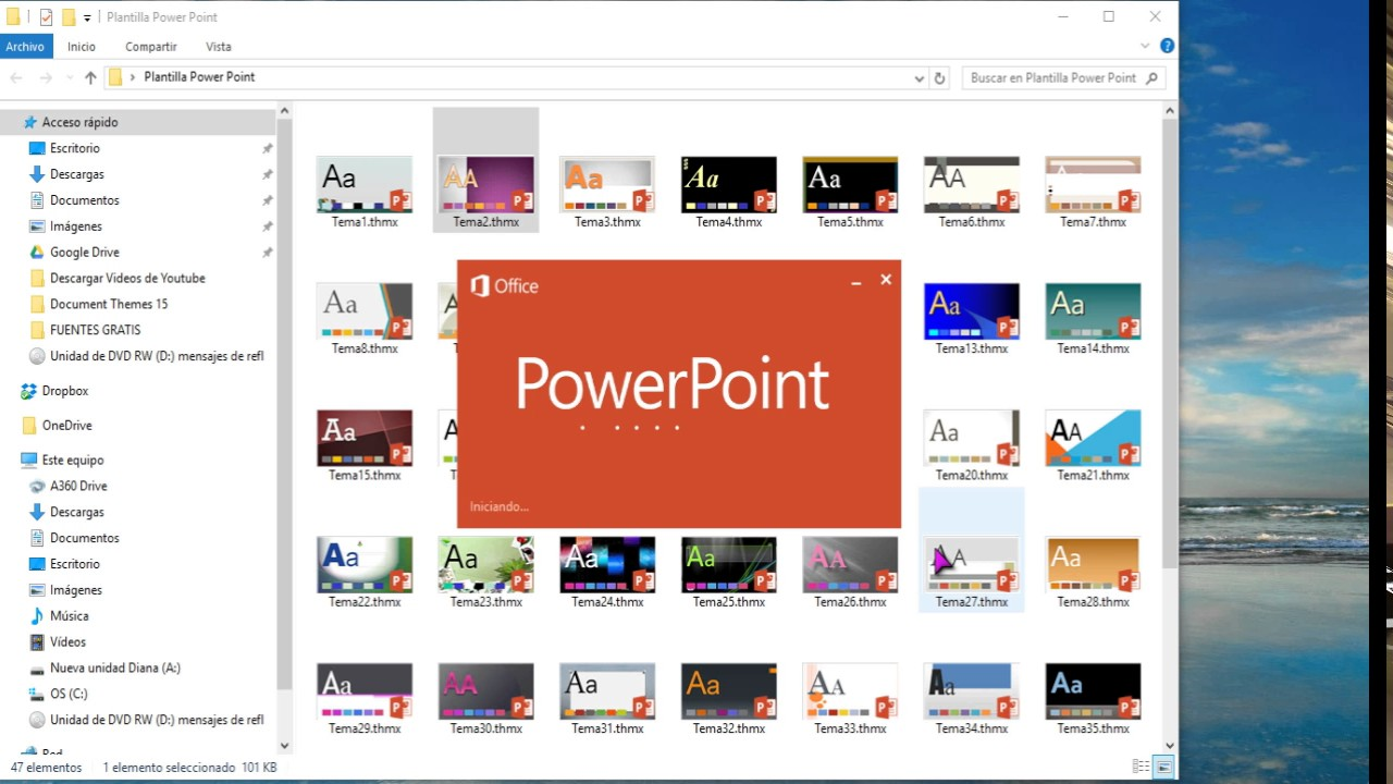 descargar pack de plantillas para power point 2016 2013 2010