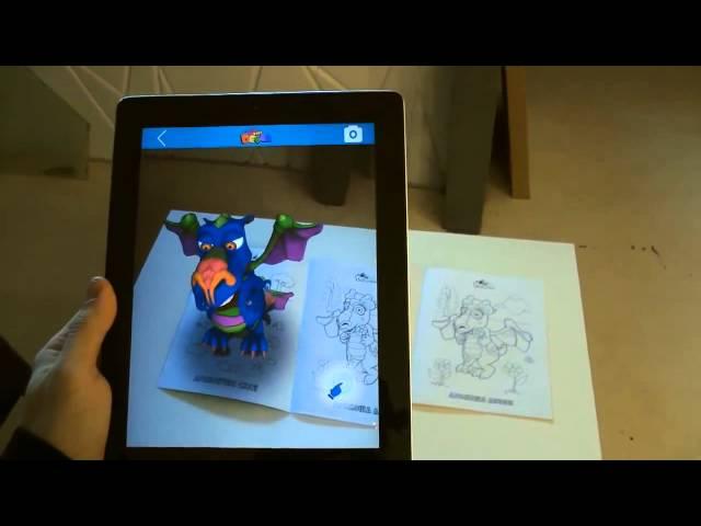 Живая раскраска 3D Живые Герои (Devar kids)