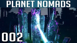 PLANET NOMADS [002] [Eisen, Carbon & mehr Ressourcen] [S02] Let's Play Gameplay Deutsch German thumbnail