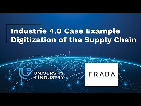 Industrie 4.0 case example: Digitization of the Supply Chain-Cooperation with FRABA Posital[Trailer]