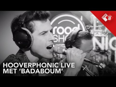 Hooverphonic - 'Badaboum' Live @ De Roodshow Late Night | Np