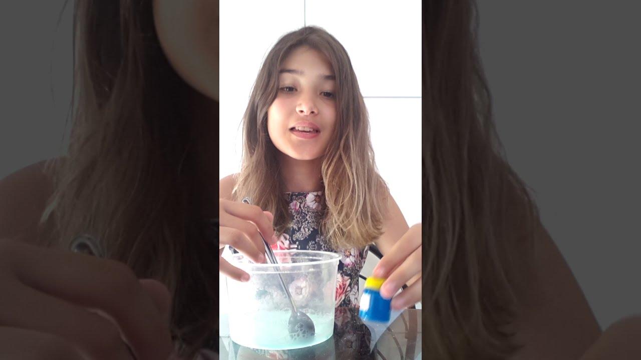 Slime com detergente e pasta de dente e sal - YouTube 7366b79cef8e8