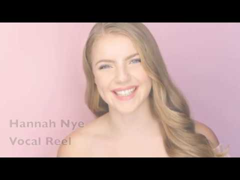Hannah Nye Vocal Reel