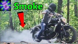 Burnouts and Wheelies on my Bike  |  Kawasaki Vulcan S Motorcycle