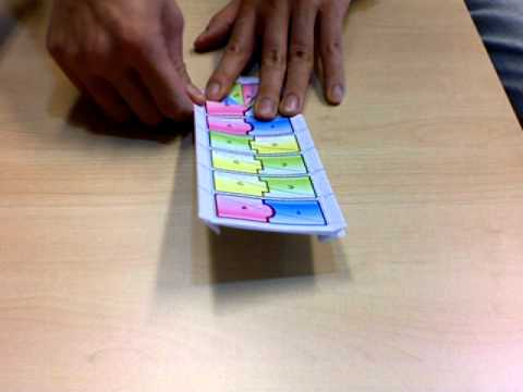 Origami DNA - Paper Model (NO BGM) - YouTube
