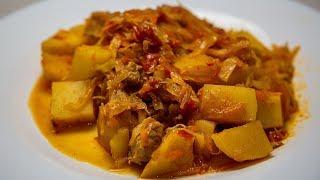 Вкусный обед или ужин из простых продуктов Рецепт без заморочек