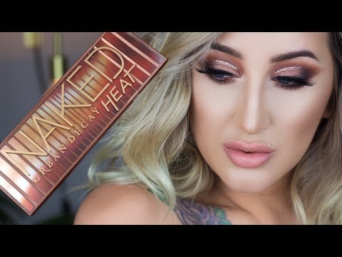 Urban Decay Naked Heat Palette | Makeup Tutorial