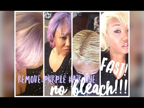 Remove purple pink fashion color hair dye no bleach youtube remove purple pink fashion color hair dye no bleach solutioingenieria Gallery