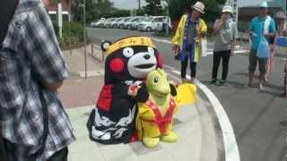 くまモン【第40回 御船があーっぱ祭り 2012 08 12】 at 上益城