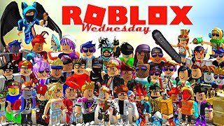 ROBLOX Gameplay With BFF's - KIDS DAY RUBUX GIVEAWAY with Fabu Rocks AKA the Youngest Girl Gamer