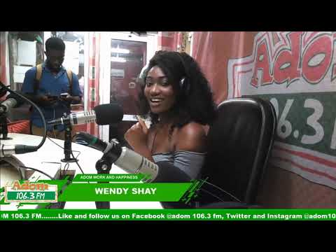 WENDY SHAY ON ADOM WORK AND HAPPINESS WITH OHEMAA WOYEJE on Adom FM (18-9-18)