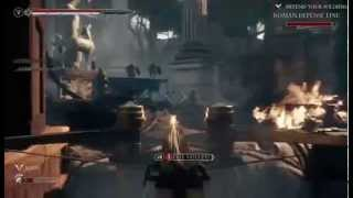 Ryse: Son of Rome, near the end, fighting Boudica and killing Nero